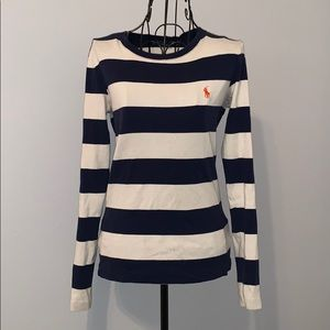 Ralph Lauren Sport Striped Top Size Small